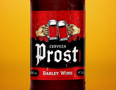 Etiqueta Cerveza Prost!