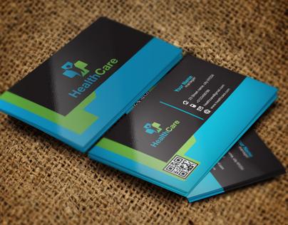 Health Clinic Business Card