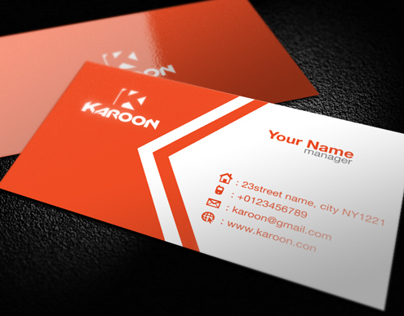 Creative Karoon Card