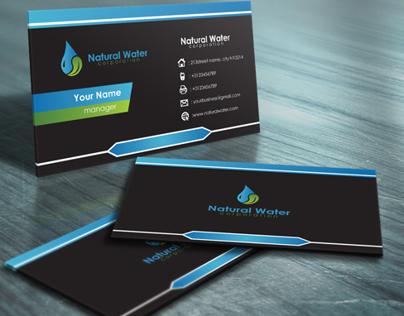 Natural Water Card