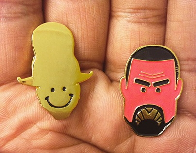 Happy & Unhappy Pins