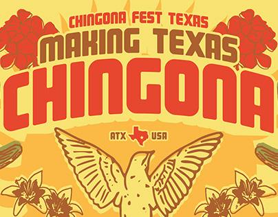 Chingona Fest Texas Mural