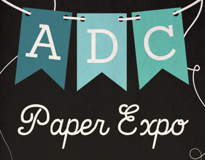 ADC Paper Expo Poster/Mailer