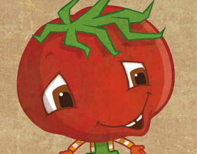 Mascot for a Bio-Supermarket