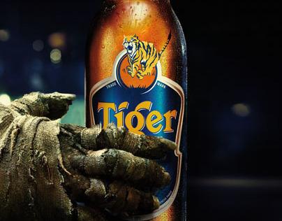 Tiger beer Halloween