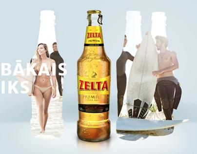 Zelta Beer website
