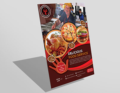 Restaurant Food Flyer Design