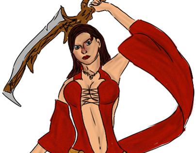 Sketch: Kaileena, PoP WW