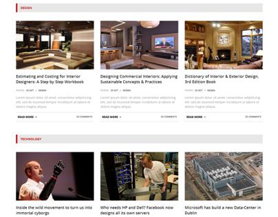 Novelty - Content Sharing WordPress Theme