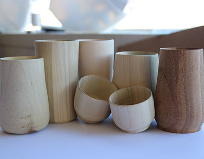 Wooden Cup Prototypes