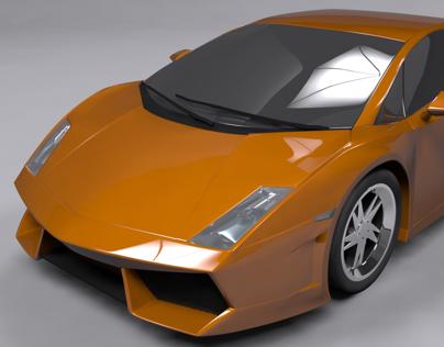 Advanced Topics in 3D Animation: Lambo Gallardo