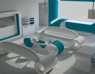 Advanced Topics in 3D Animation: Futuristic Room