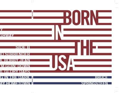 Graphic Design IV: Springsteen LP