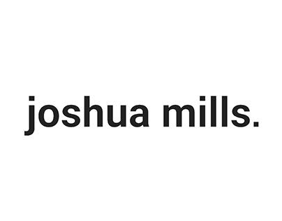 Joshua Mills' Design Portfolio 2016