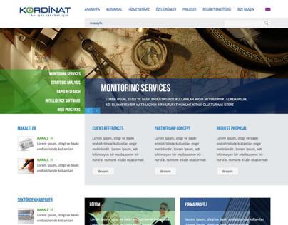 Kordinat Patent Web Interface