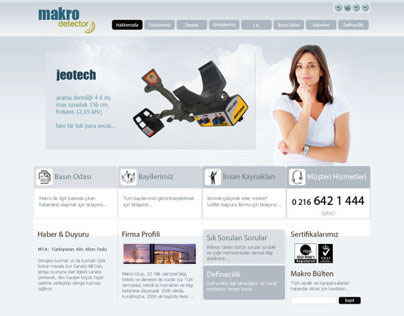 Macro Sensor Web Interface