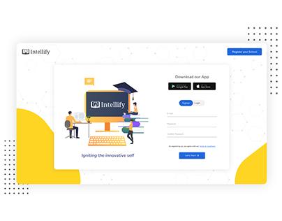 School Dashboard: Login and Register WEB