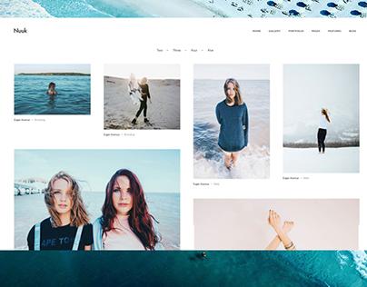 Nuuk - Unconventional Photography, Portfolio Template