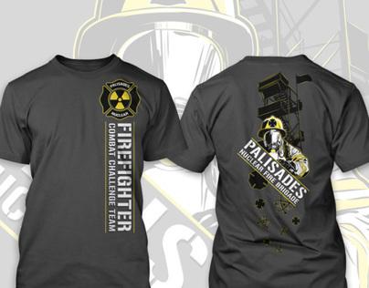 Palisades Nuclear Fire Brigade T-shirt Design