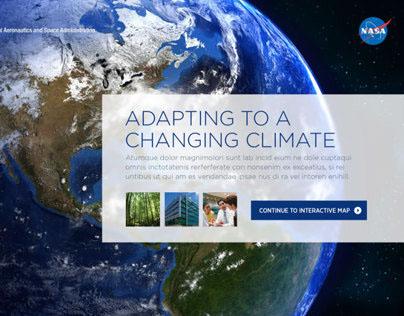 NASA Climate Change App Design