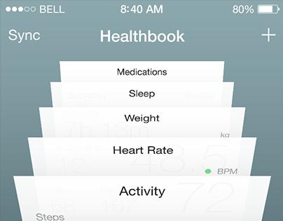 Apple's Healthbook concept