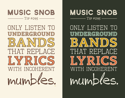 Mumbling Bands — Music Snob Tip #095