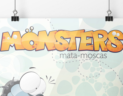 Monsters mata-moscas