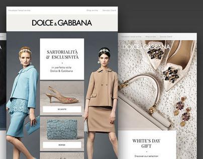 Dolce&Gabbana Online Store - Restyle 2014