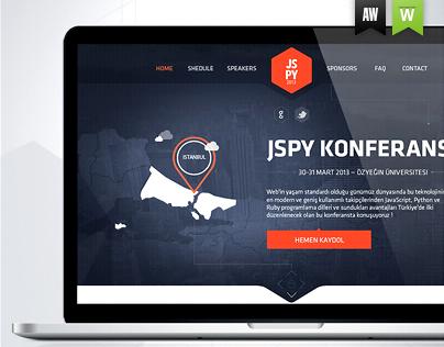 JSPY - Redesign