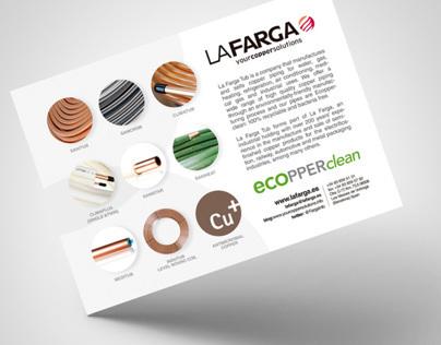 Brochure La Farga. Fiera Milano.