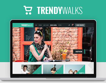 TrendyWalks - Web Site