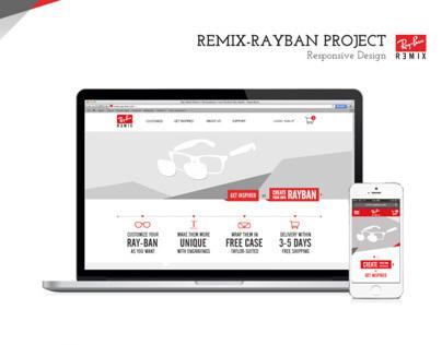 Ray-Ban Remix Responsive Customization