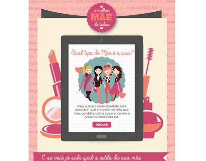 Landing Page Dia das Mães