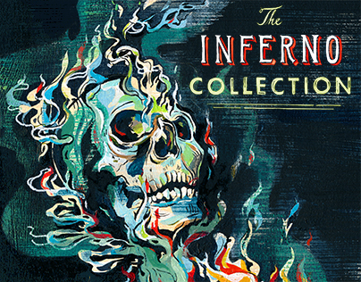 The Inferno Collection: Book Cover Illustration