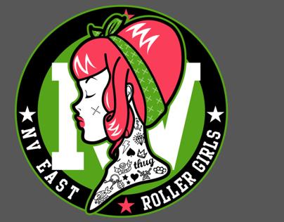 Nevada East Roller Girls logo
