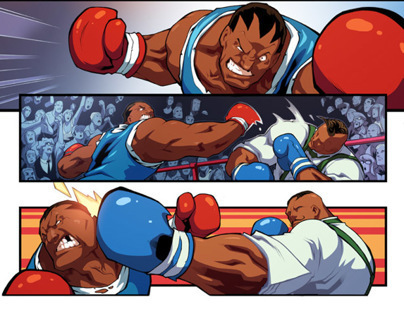 Super Street Fighter Vol. 1 - Dudley vs Balrog