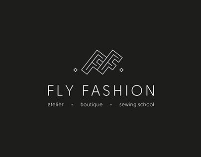 FLY FASHION. Atelier branding