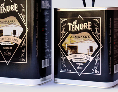 EL TENDRE - OLIVE OIL CAN