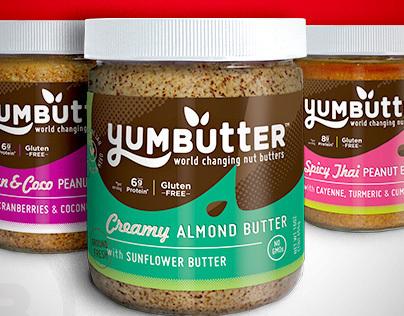 Yumbutter :: Packaging & Logo Redesign