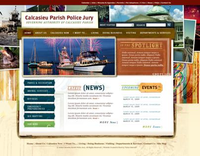 Calcasieu Parish Police Jury, Louisiana
