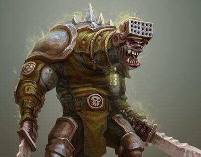 Characters for CCG Berserk: Universe