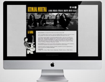 Web: Hermana Morfina (2013)