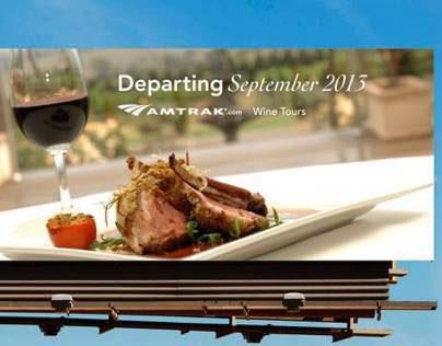 Amtrak - Wine Tasting Tour
