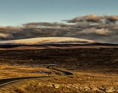Winter on Shetland
