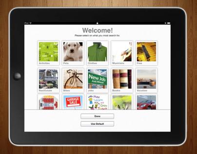 My Craigslist App for iPad