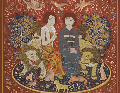 KIFUJIN TO KARAJISHI 『貴婦人と唐獅子』