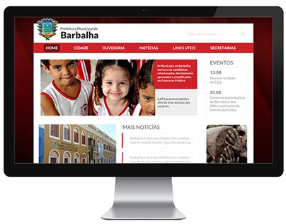 Prefeitura de Barbalha - CE | Webdesign