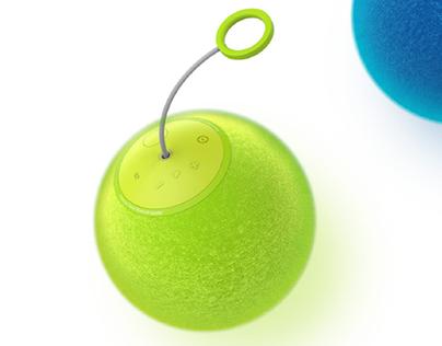 Tennis speaker