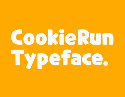 CookieRun Typeface | Free Available