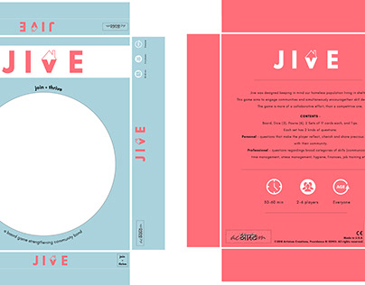 JIVE - board game strengthening community relations.